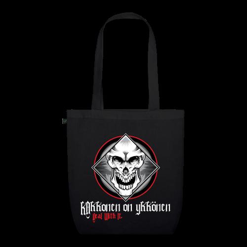2on1 Kangaskassi Skull Logo NEW DESIGN! - Luomu-kangaskassi