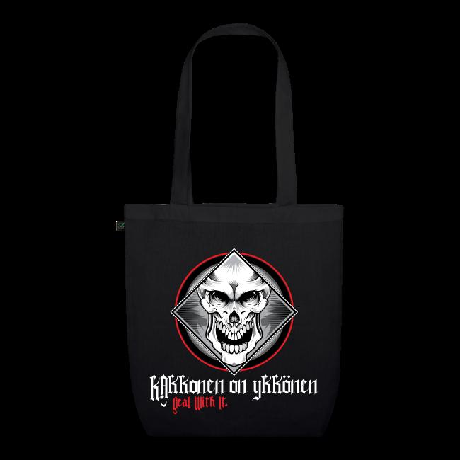 """2on1 Kangaskassi """"Skull Logo"""" NEW DESIGN!"""