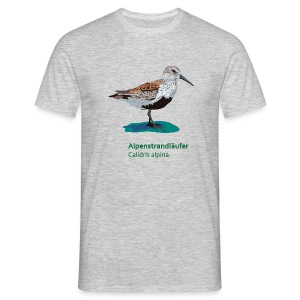 Alpenstrandläufer-bird-shirt - Männer T-Shirt