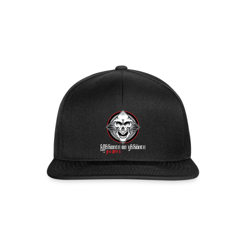 2on1 SKULL LOGO Snapback Cap - Snapback Cap