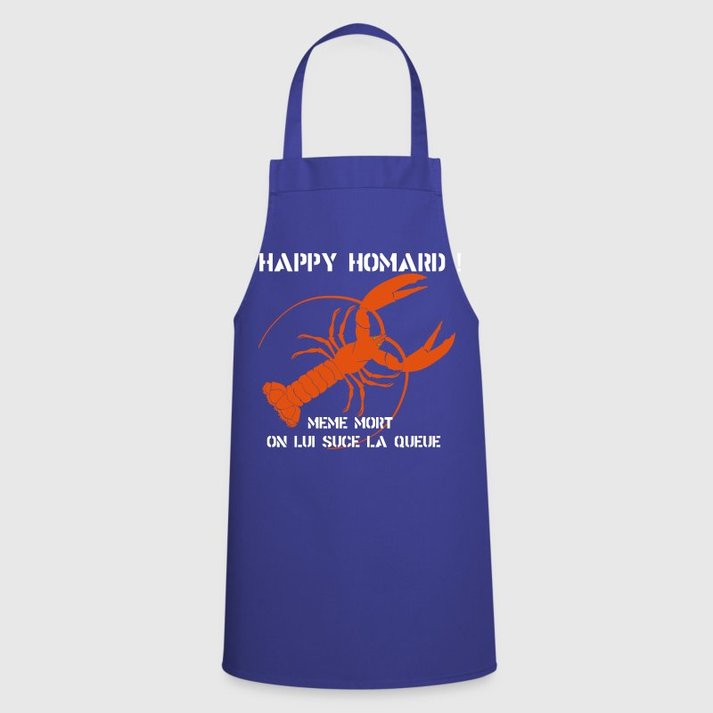 HAPPY HOMARD ! - Tablier de cuisine