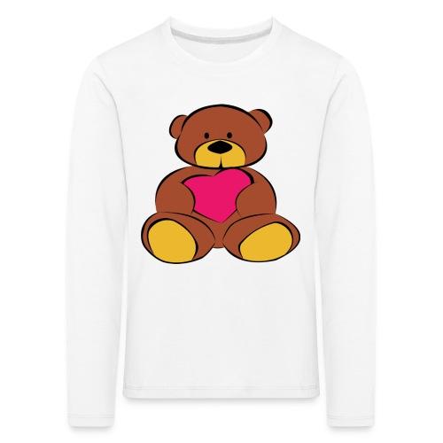 Big Teddybear - Kinder Premium Langarmshirt