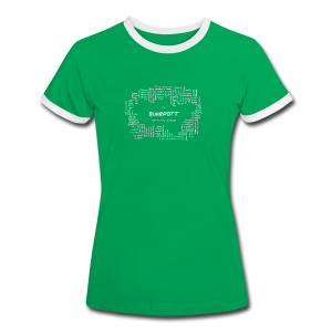 Ruhrpott in Form - Frauen Kontrast-T-Shirt