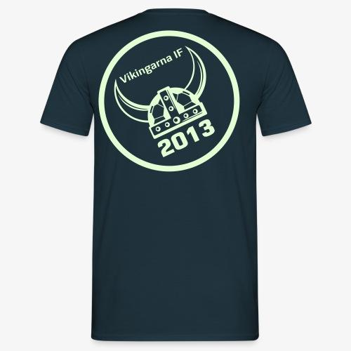Basic tee - Glow in the dark logo ryg - Herre-T-shirt