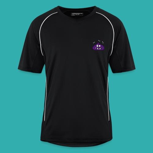 Tee Shirt Homme Sport KKProut Violet avec Pseudo Blanc - Maillot de football Homme