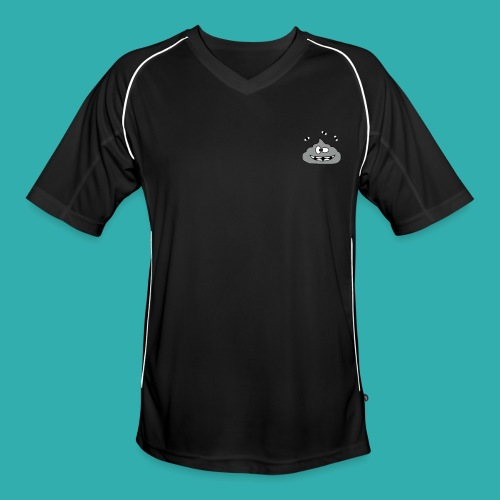 Tee Shirt Homme Sport KKProut Gris avec Pseudo Blanc - Maillot de football Homme