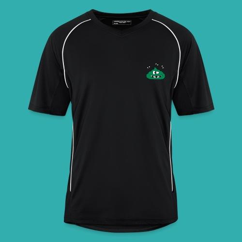 Tee Shirt Homme Sport KKProut Vert avec Pseudo Blanc - Maillot de football Homme