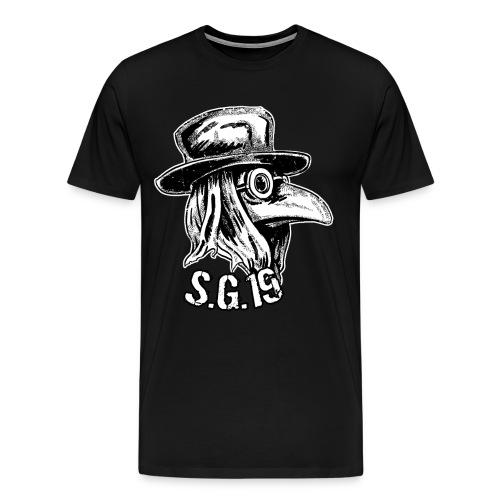 s.g.19 männershirt  - Männer Premium T-Shirt