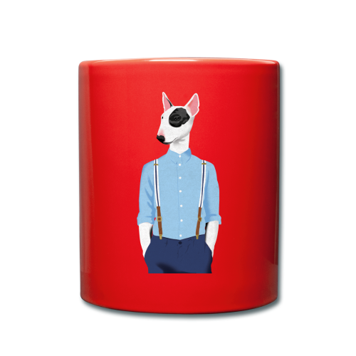 Skinhead Bull Terrier - Full Colour Mug