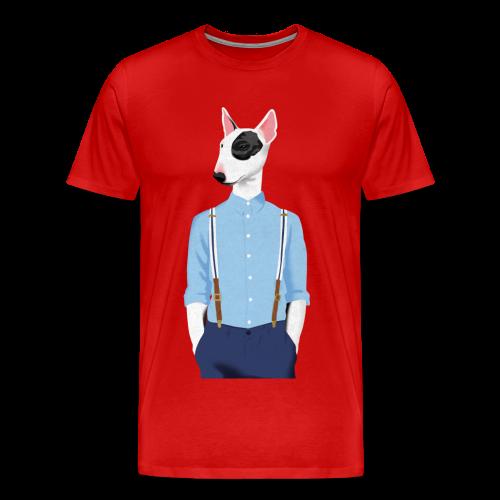 Skinhead Bull Terrier - Men's Premium T-Shirt