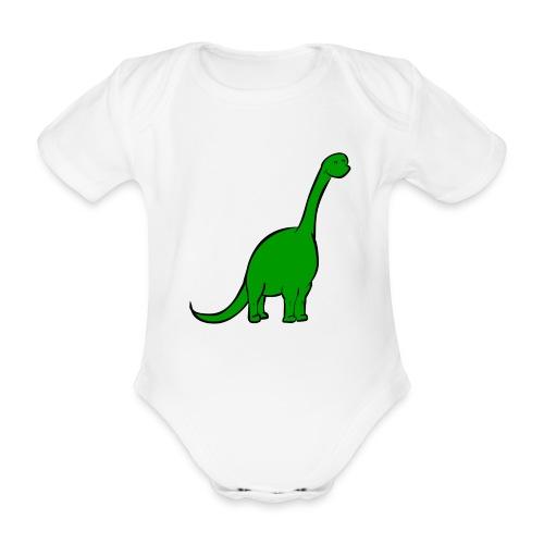 Body bébé : Diplo le diplodocus - Body bébé bio manches courtes