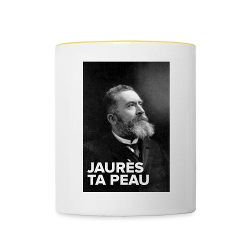 Tasse bicolore Jaurès - Mug contrasté