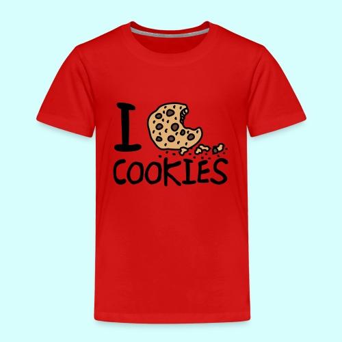 Ich liebe Kekse - Kinder Premium T-Shirt