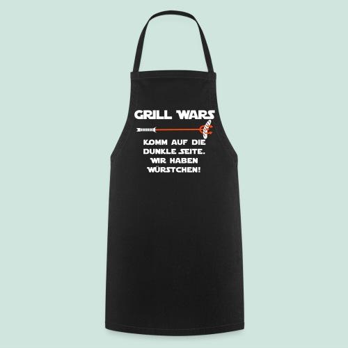 Grill Wars komm auf die dunkle Seite - Kochschürze