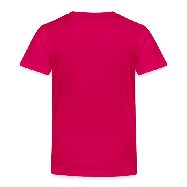 Børne T-shirt m/reflekstryk - Mange farver