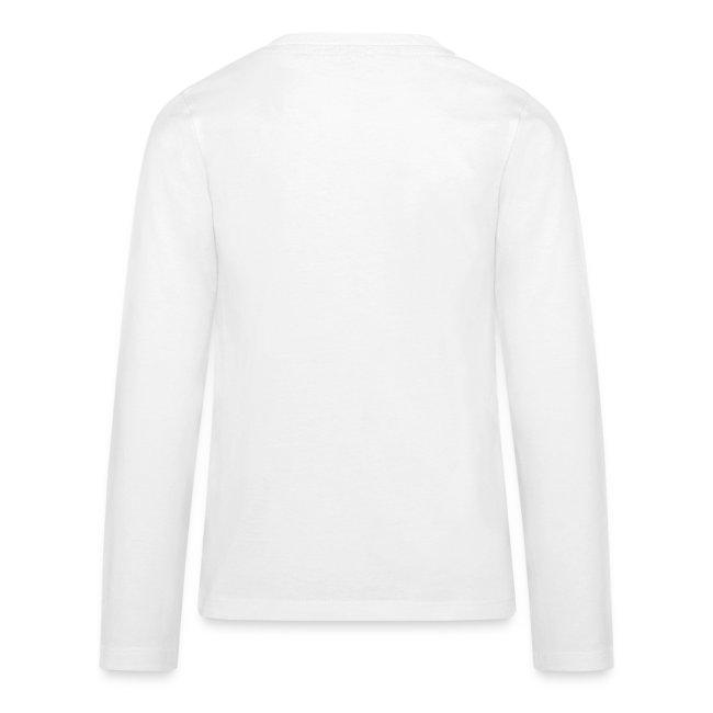 Teenager T-shirt med lange ærmer