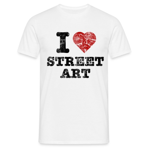 I LOVE STREET ART - T-shirt Homme