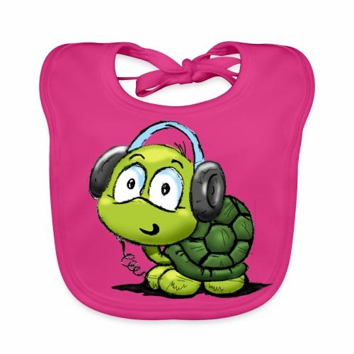 Babero tortuga - Babero ecológico bebé