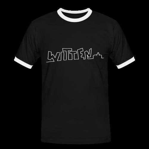 Witten - Männer Kontrast-T-Shirt