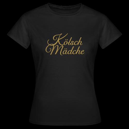 Kölsch Mädche Classic (Gold) T-Shirt - Frauen T-Shirt