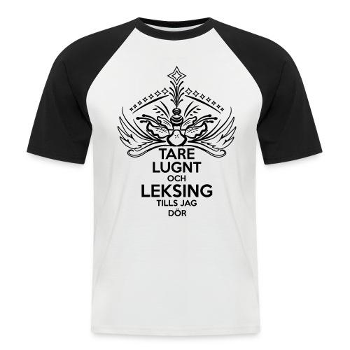 Tare Lugnt & LTJD baseball T-shirt svart - Kortärmad basebolltröja herr