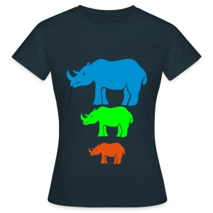 Colornashorn - Frauen T-Shirt
