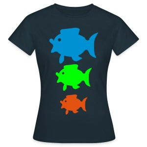 Colorfisch - Frauen T-Shirt