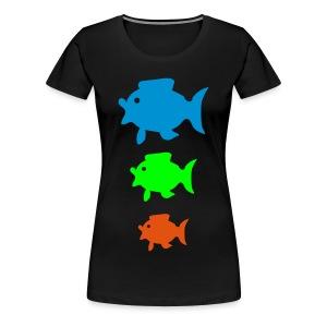 Colorfisch - Frauen Premium T-Shirt