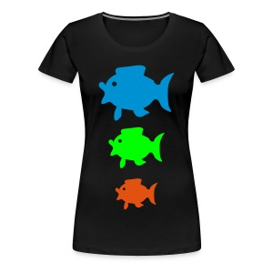 Colorfisch - Frauen Premium T-Shirt