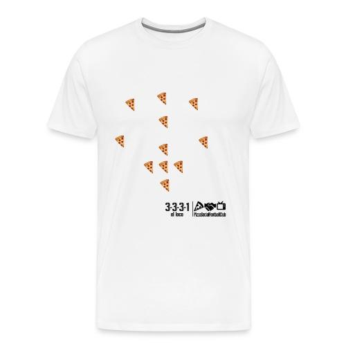 T-shirt Tableau Noir - 3331 El loco - Blanc - T-shirt Premium Homme