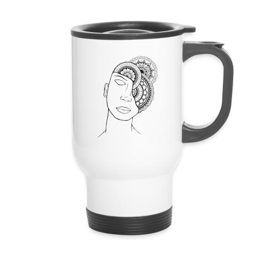 Café mandala - Mug thermos