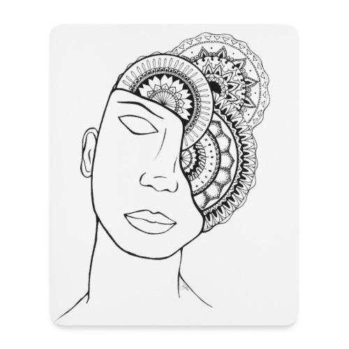 Tapis de souris Mandala - Tapis de souris (format portrait)