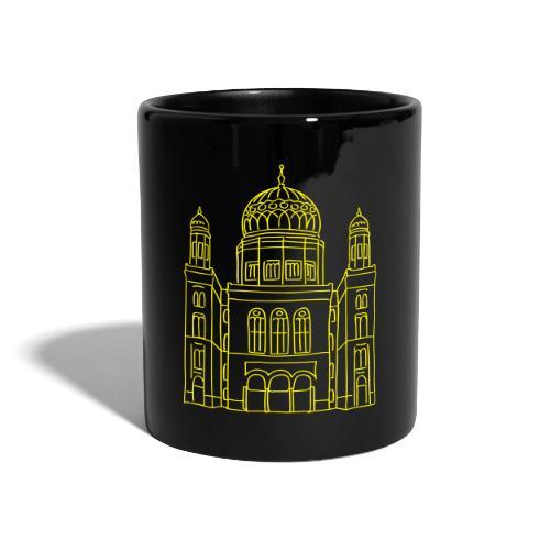 Neue Synagoge Berlin - Tasse einfarbig