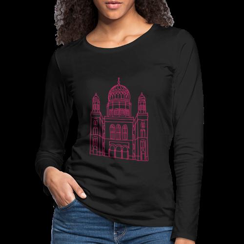 Neue Synagoge Berlin - Frauen Premium Langarmshirt