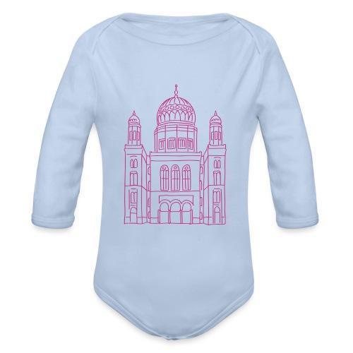 Neue Synagoge Berlin - Baby Bio-Langarm-Body