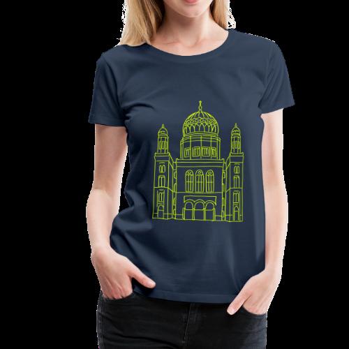 Neue Synagoge Berlin - Frauen Premium T-Shirt