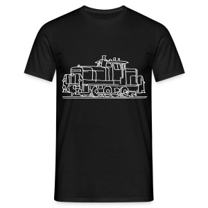 Diesel-Lokomotive - Männer T-Shirt