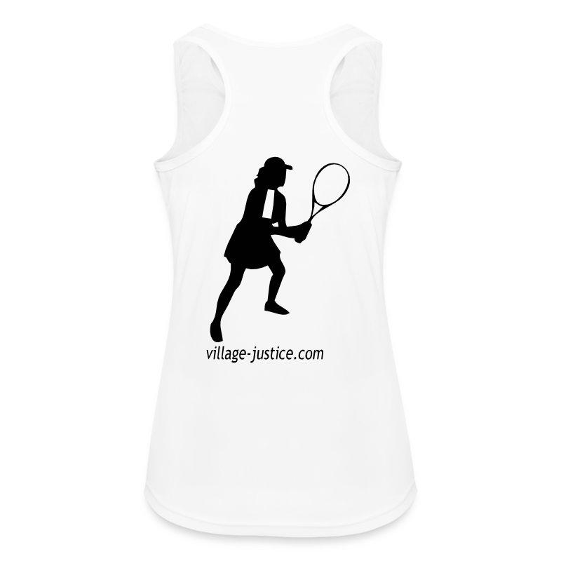 Avocate au tennis - Débardeur respirant Femme