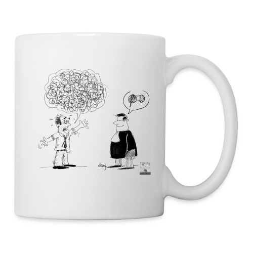 L'avocat, la solution ! - Mug blanc