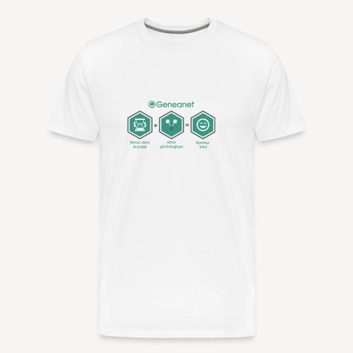 T-shirt qualité supérieure homme - Bonheur - T-shirt Premium Homme