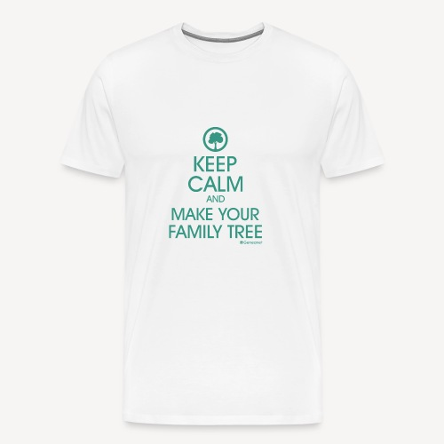 T-shirt qualité supérieure homme - Keep calm and make your family tree - T-shirt Premium Homme