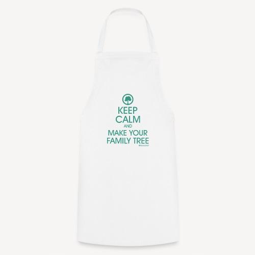 Tablier - Keep calm and make your family tree - Tablier de cuisine