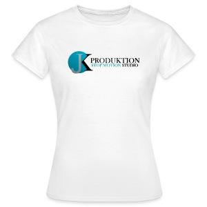 JK Schriftzug Frauen T-Shirt  - Frauen T-Shirt