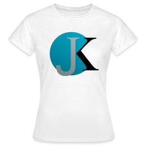JK Logo groß Frauen T-Shirt - Frauen T-Shirt