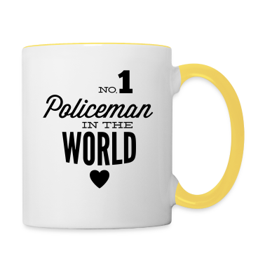 bester polizist der welt tassen zubeh r tasse spreadshirt. Black Bedroom Furniture Sets. Home Design Ideas