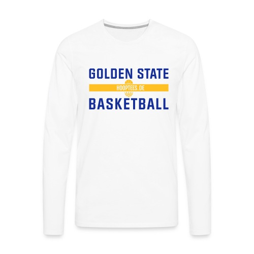 Golden State Basketball Longsleeve - Männer Premium Langarmshirt