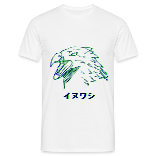 Aigle (Glitch) Homme - T-shirt Homme