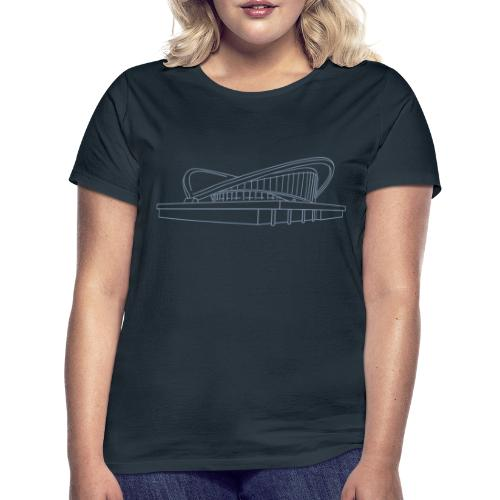 Schwangere Auster Berlin - Frauen T-Shirt