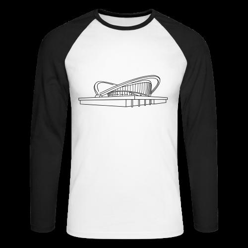 Schwangere Auster Berlin - Männer Baseballshirt langarm