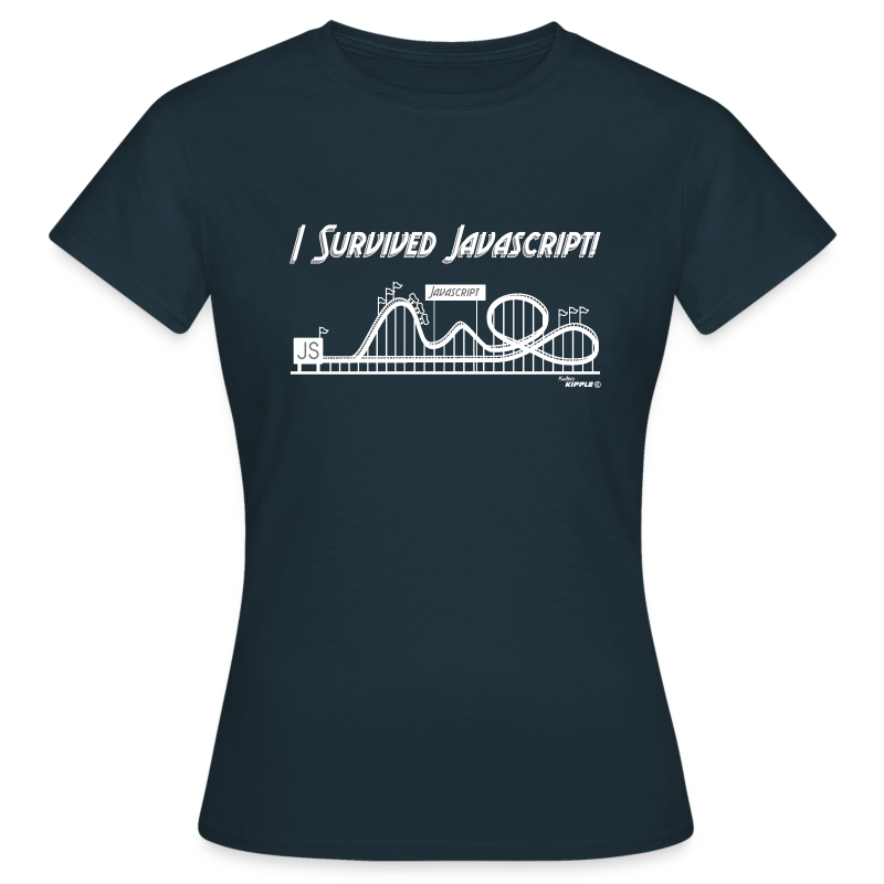 I Survived Javascript (Women) - Women's T-Shirt
